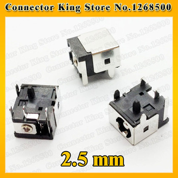 ChengHaoRan 1 Piece 2.5MM DC Charging Power Jack Connector Plug DC Socket For Asus F83CR F83T X88V F83VF K41V ,DC-012 image