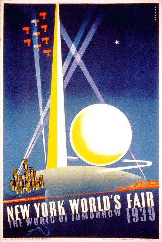 New York's World Fair Great Depression brilliant Art ...