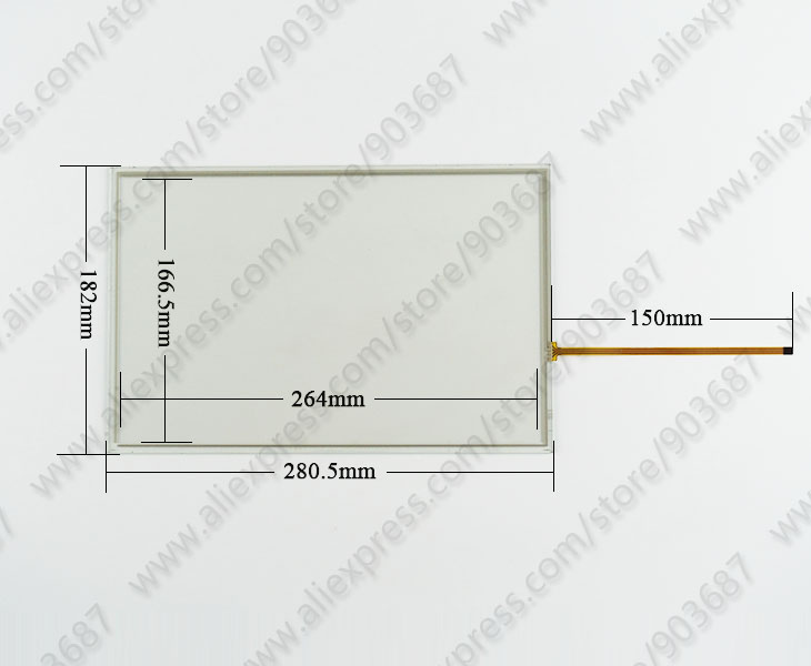 6AV2 124-0MC01-0AX0 écran tactile panel Pour 6AV2124-0MC01-0AX0 TP1200 Comfort
