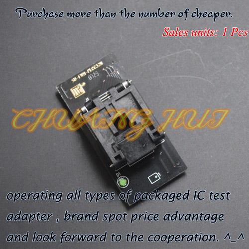 SU-FWH-PLCC32N programmer adapter plcc32 to DIP32  adapter clamshell qfp144 lqfp144 tqfp144 su h8s2505 tq144 programmer adapter for lp programmer