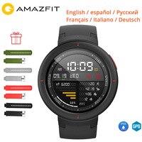 Free Film Strap Xiaomi Huami Amazfit Verge 3 Smart Watch Alexa IP68 Waterproof 1.3 AMOLED GPS+Glonass Multi sports Wristwatch
