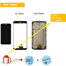 ORIGINAL Display For LG K10 2017 LCD Touch Screen with Frame Assembly for LG K20 Plus Display M250 M250N M250E M250DS VS501 LCD смартфон lg k10 2017 m250 gold