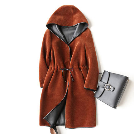 For 2018 Autunno Lana Coat lunga Inverno Women Ayunsue zqaRxZw