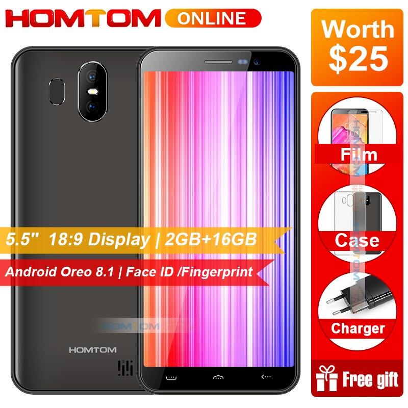 Купить HOMTOM S17 Android 8,1 4 ядра 5,5