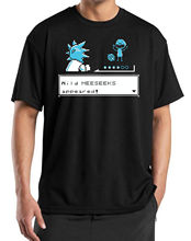 Rick & Morty T-shirt – Wild Mr Meeseeks Pokemon Gaming T Shirt New Arrival Male Tees Casual Boy T-Shirt Tops Discounts