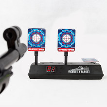 DIY High Precision Scoring Auto Reset Electric Target for Gun Toys for Blaster Gel Beads Blaster Gun Toy Parts(China)