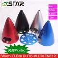 6 звезда Совет алюминиевого сплава формы обтекателя 3, 3.25, 3.5, 4 дюйм(ов), счетчик, для DLE двигатели и Sbach самолет
