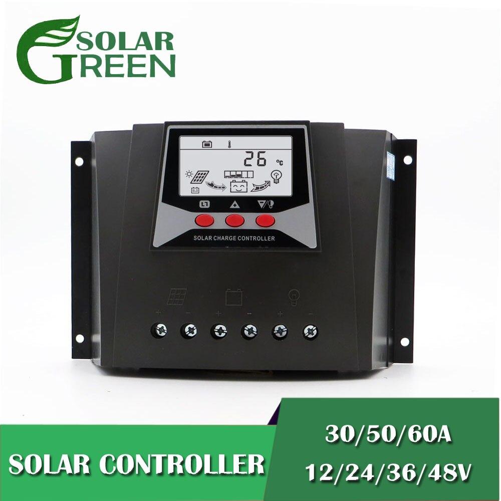 12V 24V 36V 48V 60/50/30AMP PWM Solar Charge controller Charger Regulators Backlight LiFePO4 lithium Battery 3.2V 3.7V12V 24V 36V 48V 60/50/30AMP PWM Solar Charge controller Charger Regulators Backlight LiFePO4 lithium Battery 3.2V 3.7V