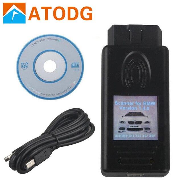 Top for BMW Scanner 1.4.0 Unlock Version for BMW 1.4.0 OBD OBDII Code Reader for BMW1.4.0 Professional Super function
