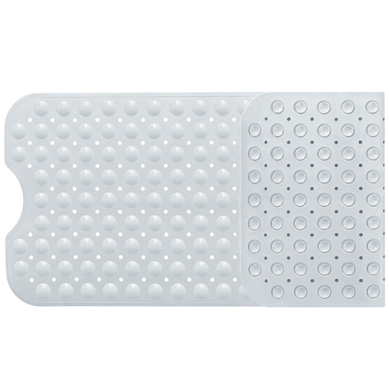 Image 5 - Bath Mats Bathroom Mat Carpet tapis salle de bain Anti Skid Massage Soft Mat Suction Cup Non slip Rug Shower Mats-in Bath Mats from Home & Garden