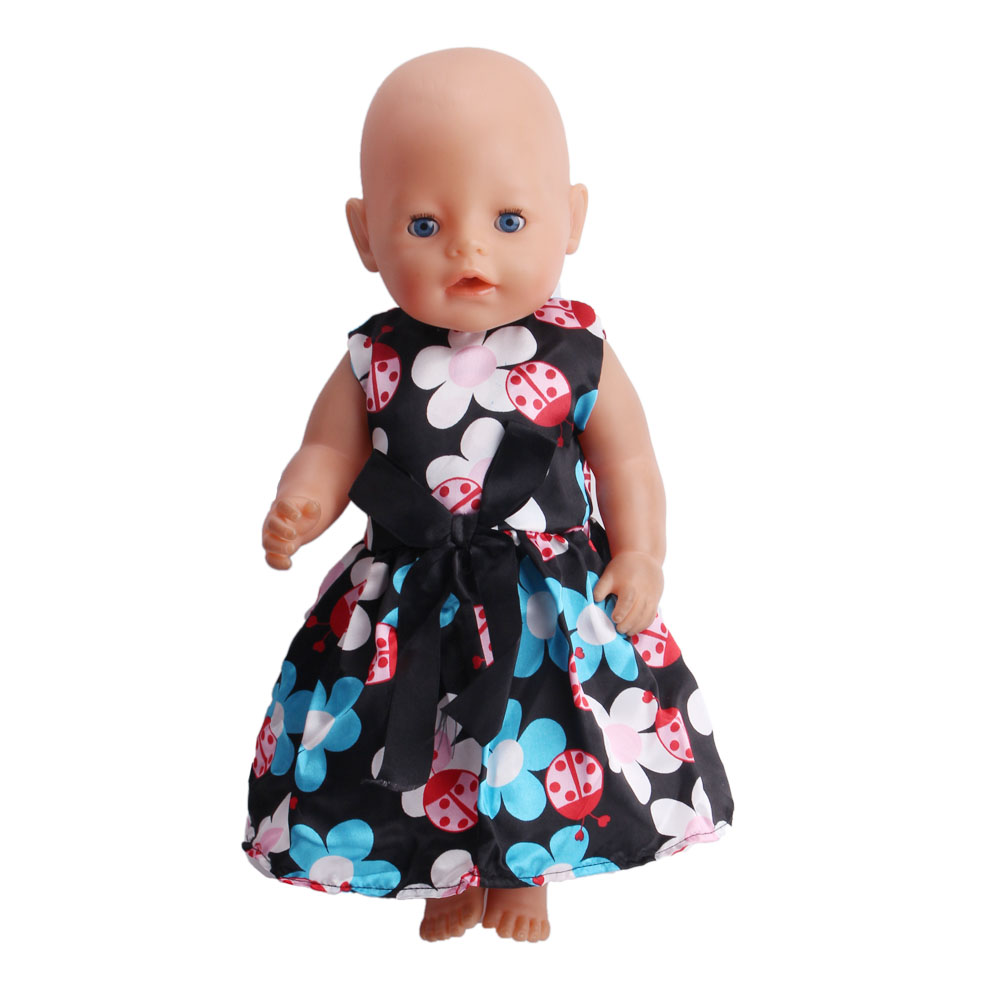 43CM Zapf Baby Born Doll Clothes All kinds of style clothes children Christmas gift free shipping the doll F206