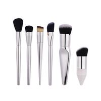 6Pc Big Makeup Set Blushing Blending Powder Cosmetic Brushes Maquiagem Facial Foundation Lose Powders Make Up