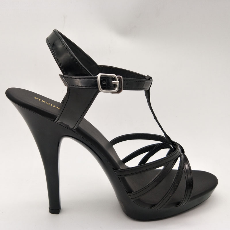Hauts Party Chaussures Gladiateur Talons Plate Sandales Mode Noir Femmes Laijianjinxia D'été Sexy Cm Pompes Creux forme 13 D29eWYEHI