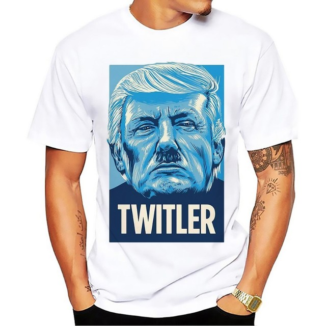 ee513f238b Donald Trump twitler nope funny President t shirt men 2018 new summer short  sleeve comfort t-shirt homme white casual t-shirt