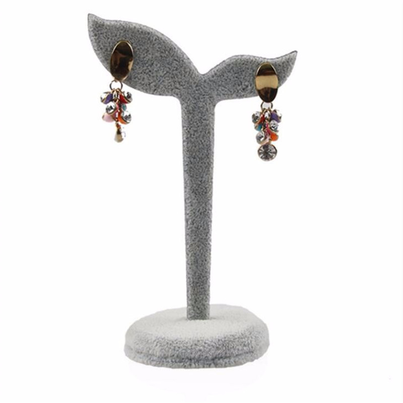 Bincoco jewelry display holder Y shape stand for earring fashion