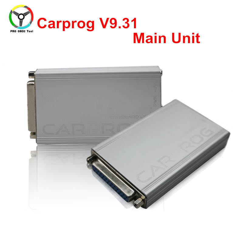 Best Carprog Tool Main Unit Carprog V10.0.5 For Car Radio Odometer Dashboard Immobilizers Car Prog ECU Chip Tuning Free Shipping