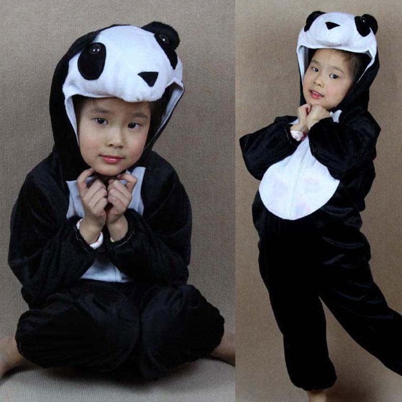 Umorden Cartoon Animal Panda Costume Cosplay Festa dei bambini - Costumi di carnevale