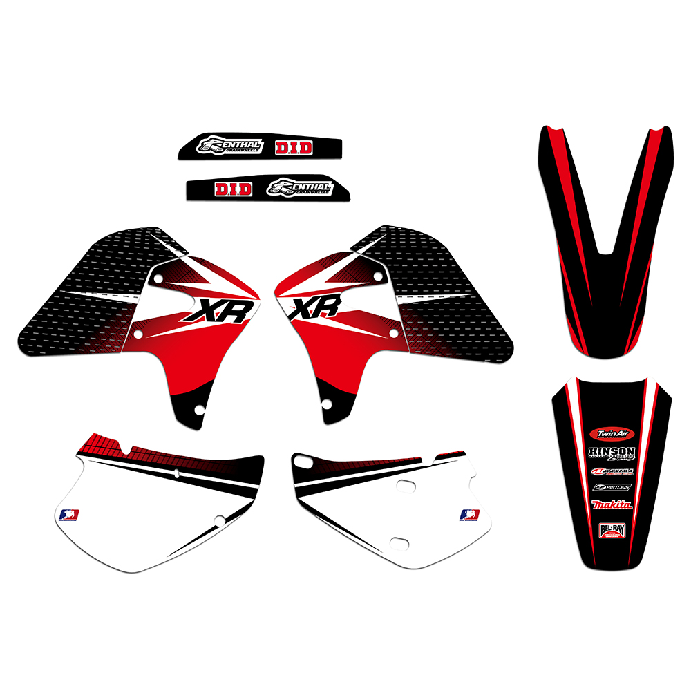 все цены на New Style TEAM GRAPHICS & BACKGROUNDS DECALS STICKERS For Honda XR650R XR 650 R 2000 2001 2002 2003 04 05 06 07 08 2009 2010 онлайн