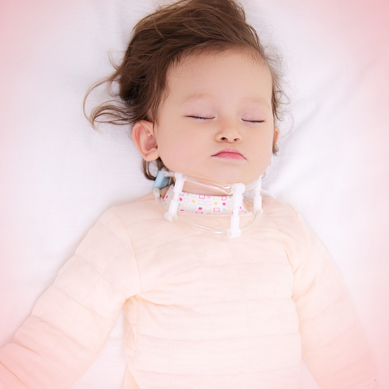 Adjustable Children torticollis aligner correct muscle spasm baby neck torticollis orthosis support(China)