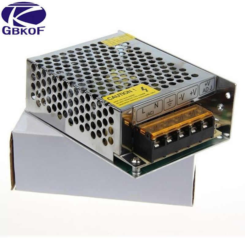DC 12 V Питание освещения Трансформатор переключатель для Светодиодный полоски адаптер переменного тока 220 V DC 2A 3A 5A 6.5A 10A 15A 20A 25A 30A 33A