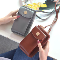 Unicreate 2017 New Women Wallets Coin Case Purse For Phone Card PU Wallet Leather Purse Solid