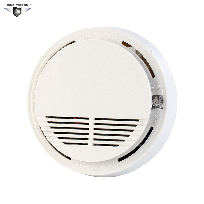 433MHZ Wireless Smoke Detector for Fire Alarm Sensor can work with GSM alarm system(2pcs SM-100) 433mhz 315mhz wireless smoke sensor for gsm alarm system