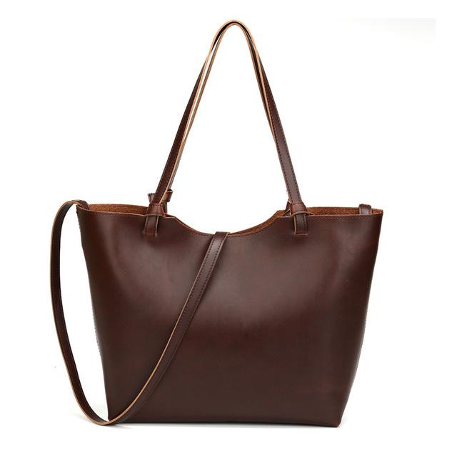 Genuíno bolsas de couro de alta qualidade mulheres bolsas de ombro das mulheres do Vintage bolsas Tote Designer saco do mensageiro da bolsa Bolsas6910