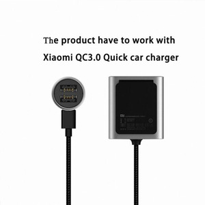 Image 4 - Original Xiaomi Car Charger QC3.0 Version Extended Accessory         Xiaomi QC3.0 Quick car charger For smartphone Dual USB