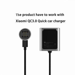 Image 4 - オリジナル xiaomi 車の充電器 QC3.0 版拡張アクセサリー    xiaomi QC3.0 クイック車の充電器スマートフォン用デュアル usb