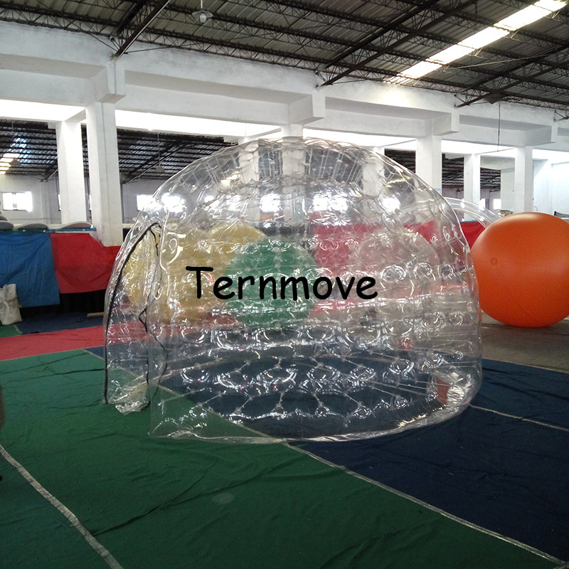Inflatable Tent for Event Trade Show Exhibition bubble(two layer),clear Commercial Advertising inflatale promotion tent trade show exhibition tent commercial advertising inflatable tent house for event china factory outdoor inflatable igloo tent