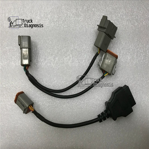 6Pin +8Pin Industrial Marine vodia 5 Diagnostic Tool cable for Volvo Penta Vodia Marine Engines