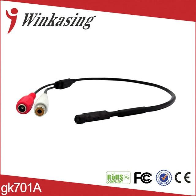 free shipping Mini 20pcs/lot surveillance Audio Microphone Auido Pickup sound monitor  MINI Audio CCTV Security DVR Cameras