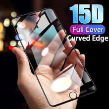 Curved Edge Full Cover Glass On For iPhone 7 6 8 6s Plus Tempered Protective Glass For x xs max xr Screen Protector Glass Film 111d curved edge full cover protective glass for iphone x 7 8 6 6s plus tempered screen protector for xr xs max x glass film