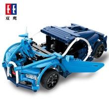 HeLICMax автомобиля Buliding Блок Lamborghini и Bugatti Дракон Legoing Супер гоночный автомобиль электрический мощность функция для подарка
