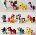 Plástico de alta calidad figuras de dibujos animados caballo de juguete del pvc mi friendship is magic sun princess nightmare moon juguetes