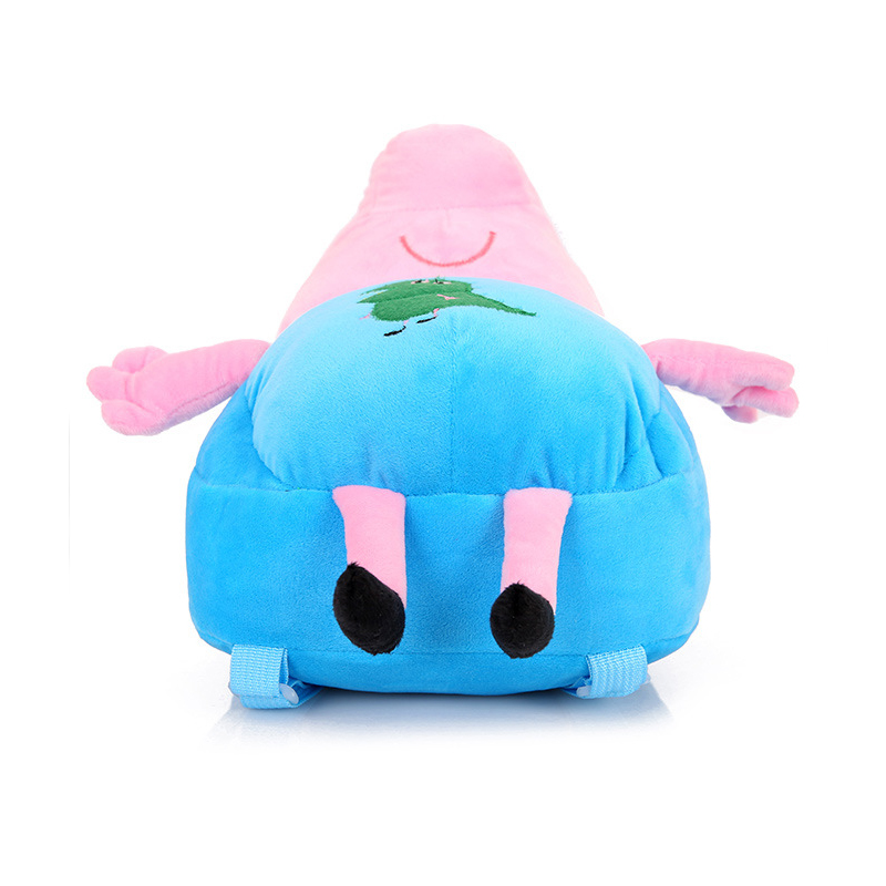 Lovely-Children-Plush-Cartoon-Bags-Kids-Backpack-Children-School-Bags-3D-Pig-Bags-For-Boys-Girls-Brinquedos-Kids-Toys-5-Colors-4