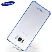 Samsung Galaxy S8 S8 Plus чехол прозрачный жесткий PC задняя крышка полный защитный S 8 G9550 G9500 Роскошный противоударный чехол