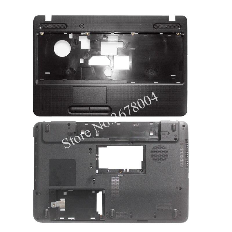 Nouvelle couverture de cas pour Toshiba Satellite C650 C655 C655D Repose-poignets COUVERCLE/Portable Bas de Cas De Couverture De Base