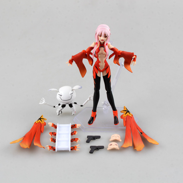 US $18 39 20% OFF|Aliexpress com : Buy Huong Anime Figure 15 CM Guilty  Crown Yuzuriha Inori Figma 143 PVC Action Figure Collectible Model Gift Toy
