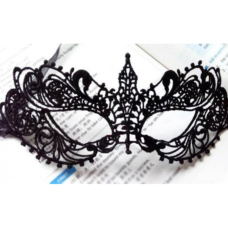 Masque Halloween Mask Sexy Black Lace Mask For Masquerade Party Anonym Venetian Carnival Mask Half Face Eye Mask For Dance