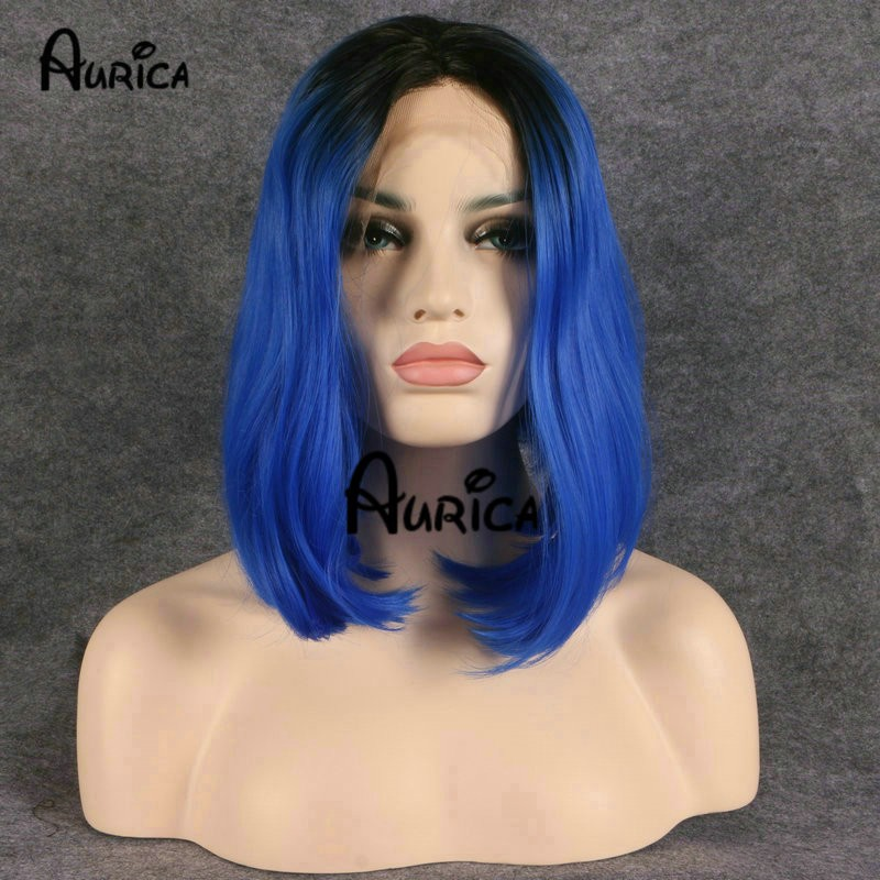 Ombre-Bob-Wig-Synthetic-Heat-Resistant-1B-Black-Ombre-Blue-Short-Lace-Front-Bob-Wigs-Gorgeous (1)