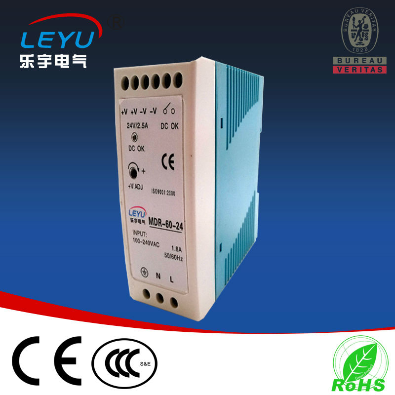цена на best price MDR-60-12 din rail power supply for led 60w 12vdc 5a regulated industrial timer