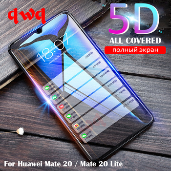 5D Tempered Glass For Huawei Mate 20 Lite Full Cover Screen Protector On The For Huawei Mate 20 Mate 20 Pro 9H Protective Glass