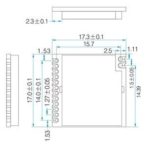 Image 5 - Módulo LoRa inalámbrico de RF de largo alcance, módulo LoRa1276 con certificado FCC de 868MHz, 915MHz, 100mW, sx1276, 2 unids/lote