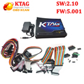 Melhor qualidade KTAG Programação ECU K-TAG Ferramenta Mestre Versão V2.10 V5.001 k tag Nenhum Token de Hardware limitada DHL livre