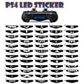 50pcs/lot PS4 controller LED sticker PS4 decal led cover controller LED sticker PS4 light bar LED sticker