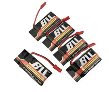 BLL / RC Model Battery 5PCS 3.7V 1000Mah MJX X400 X300C FY550 HM1315 HJ819 HJ818 JXD509 Remote Control Helicopter