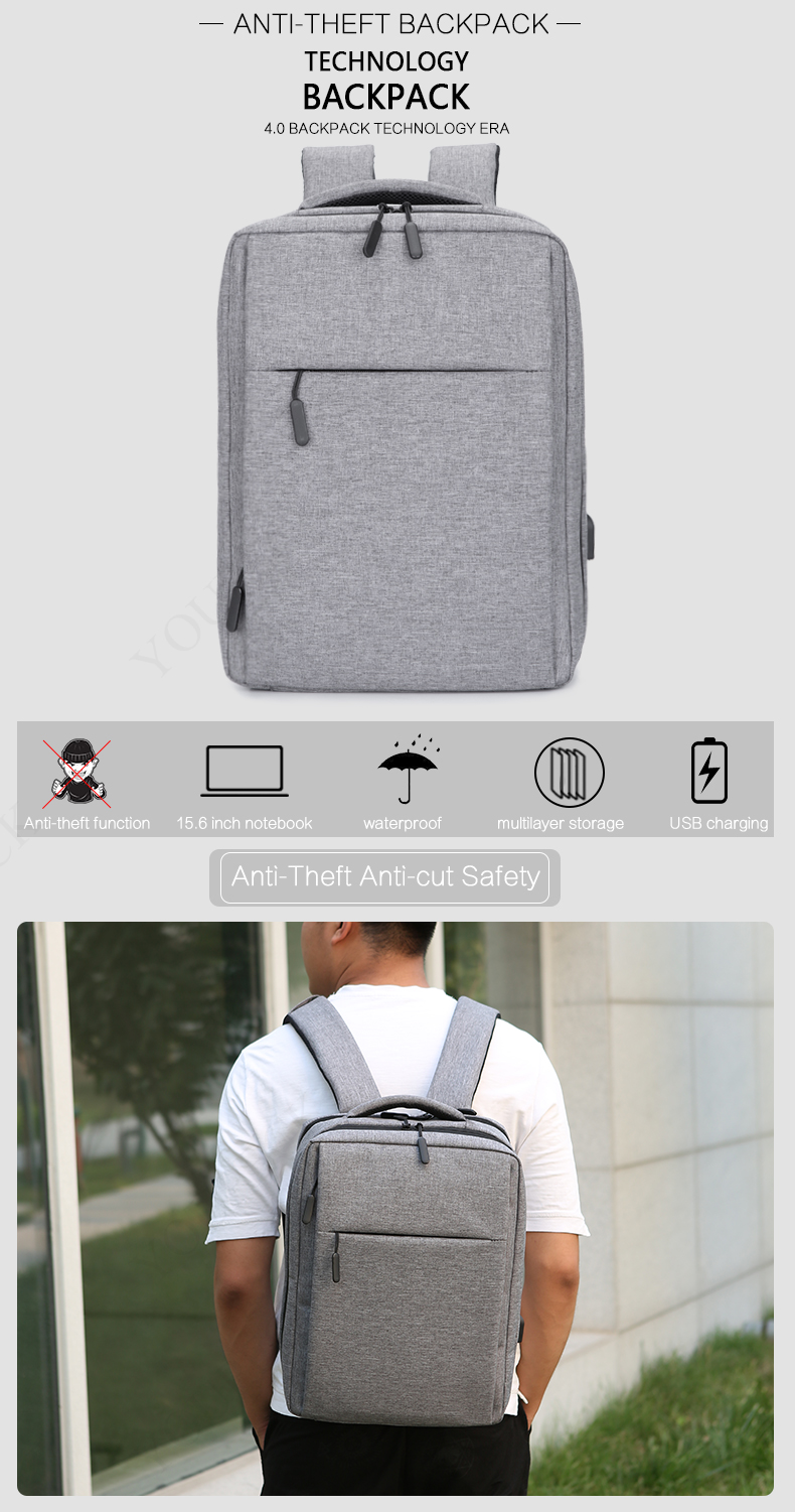 156 173 Usb Charge Backpacks Anti Theft Laptop Backpack Business Notebook Protector Please Have Attention We Many Case And Screen Guard Film To Fits Your Such As Glare