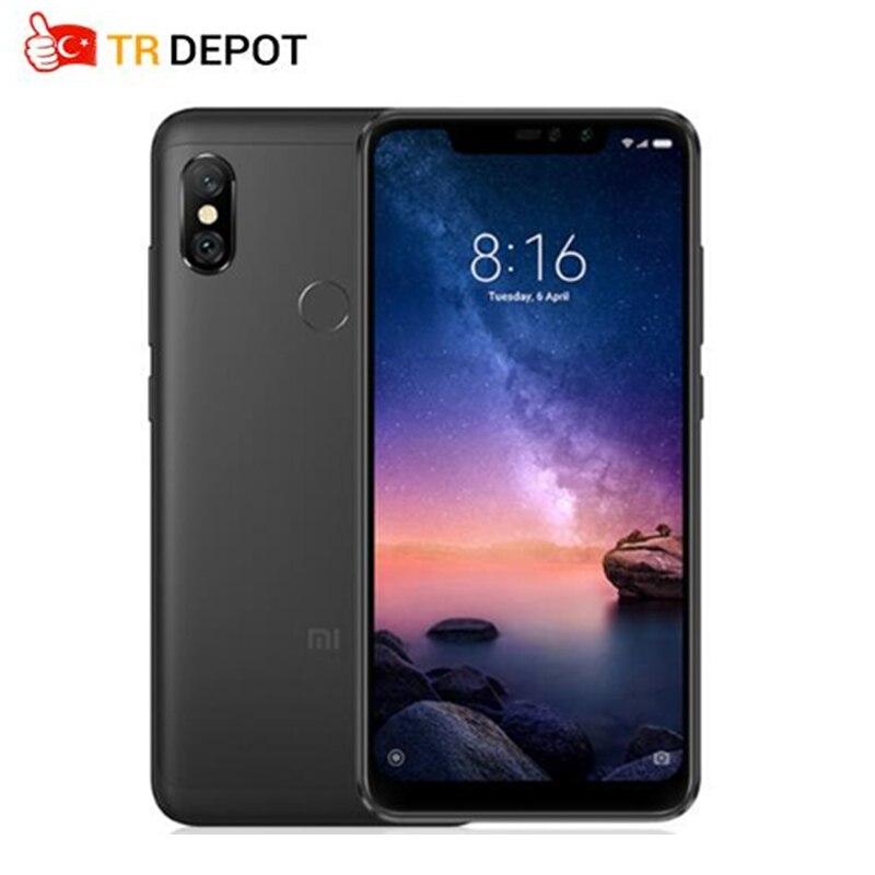 Global Version Xiaomi Redmi Note 6 Pro  Smartphon 4GB 64GB 6.26″ 19:9 Full Screen 2 Front+ 2 Back Cameras Quick Charge Octa Core