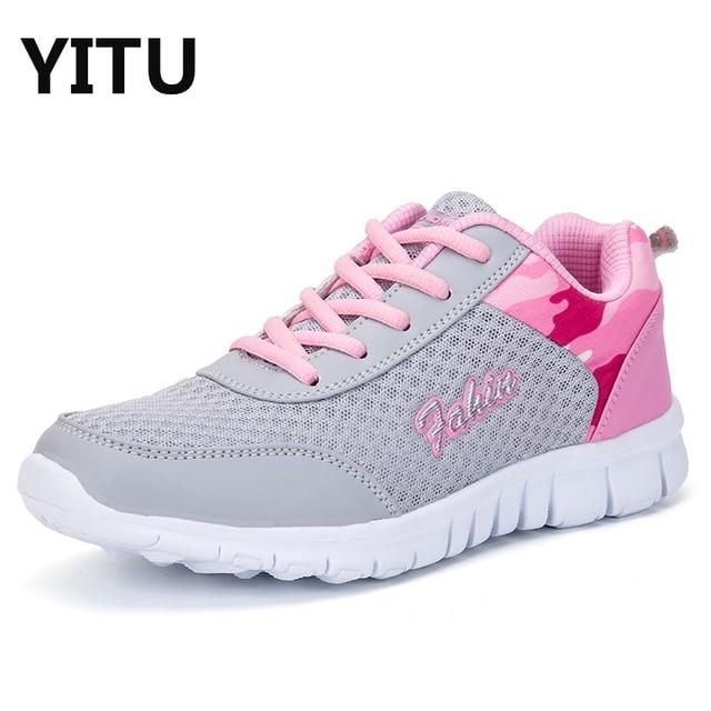 4c396f6ade09 Scarpe Sportive Leggere Ragazza delle donne All'aperto In Esecuzione  Jogging Walking Scarpe Sneaker per